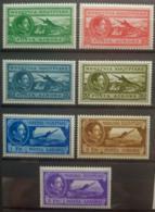 ALBANIA 1930 - MLH - Sc# C29-C35, Mi 228-234 - Air Mail - Complete Set! - Albania