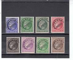 France - 1922-47 - Préobl. - 87**à 93**  - Type Cérès De Mazelin - Preobliterati