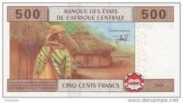 CENTRAL AFRICAN STATES P. 406Aa 500 F 2002 UNC - Gabun