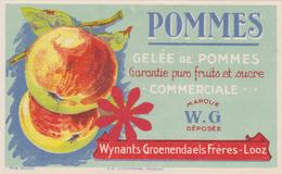 Gelée De Pommes Gelei Wynants Groenendaels Looz / Borgloon. Belgie - Autres