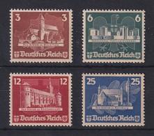 Deutsches Reich 1935 OSTROPA Einzelmarken Satz Mi.-Nr. 576-579 Ungebr. O. G.  - Deutschland