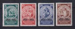 Deutsches Reich 1933 Nothilfe Mi.-Nr. 508-511 Satz 4 Werte Kpl. Sauber Ungebr. * - Deutschland