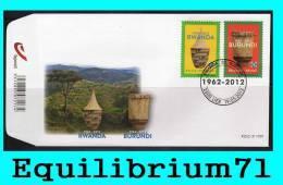 """FDC (4240/4241) """"Rwanda - 50 - Burundi"""" - BELGIQUE - 2011-..."""