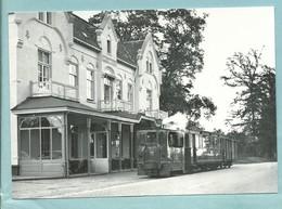 Pays Bas Lang Kappel Hôtel De Gouden Leeuw Lion D' Or 1956 Désservi Par Le Train BVA 20986 Photo De Jongh - Eisenbahnen