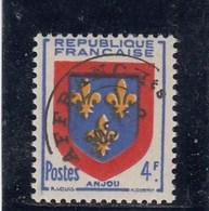 France - 1922-47 - Préobl. - 105**  - Armoirie De L'Anjou - Preobliterati