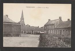 59 TERDEGHEM - L'Eglise Et La Place - Francia