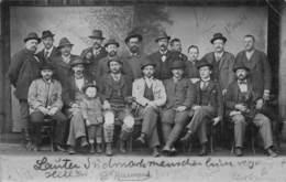TAMSWEG AUSTRIA~LARGE GROUP OF MEN POSING ~1902 PHOTO POSTCARD 42570 - Tamsweg