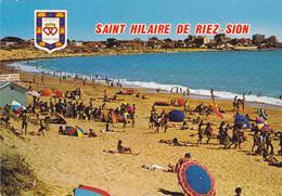 CPM 85 @ SAINT HILAIRE DE RIEZ - La Plage De Sion En 1985 - Saint Hilaire De Riez