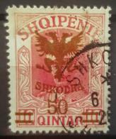 ALBANIA 1920 - Canceled - Sc# 128 - Albanie
