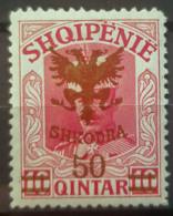 ALBANIA 1920 - MLH - Sc# 128 - Albanien
