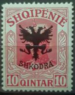 ALBANIA 1920 - MLH - Sc# 121 - 10q - Albanien
