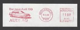 BRD AFS - NECKARSULM, Der Neue Audi 100 - Audi AG 1993 - Voitures