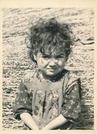 Portrait Jeune Fille Guerre D'Algérie Young Girl Argentique Algérienne - Persone Anonimi