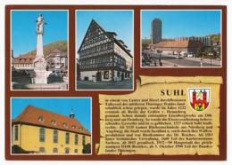 Suhl Im Thüringer Wald - Chronik Der Stadt - 4 Ansichten - Suhl