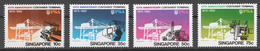 Singapore 1982 Mi# 406-09** CONTAINER TERMINAL - Singapore (1959-...)