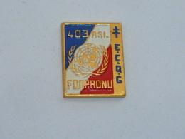 Pin's FORPRONU, 403° BSL B - Militari