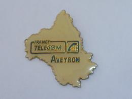 Pin's FRANCE TELECOM AVEYRON B - Telecom Francesi