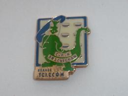 Pin's FRANCE TELECOM, C.F.R. DRAGUIGNAN - Telecom De Francia