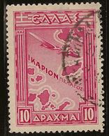 GREECE 1933 10d Red SG 472 U #VW211 - Oblitérés