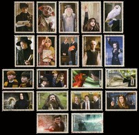 Etats-Unis / United States (Scott No.4825-44 - Harry Potter) (o) Set - Usati