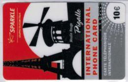 SPARKLE - Gruppo Telecom Italia - Moulin Rouge - Pigalle - 10 € - 31/12/2010 - Voir Scans - Frankrijk