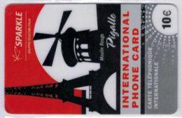 SPARKLE - Gruppo Telecom Italia - Moulin Rouge - Pigalle - 10 € - 31/12/2011 - Voir Scans - Frankrijk