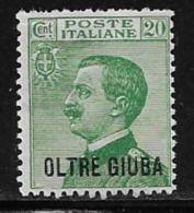 Oltre Giuba Scott # 16 Mint Hinged Italy Stamp Overprinted, 1925 - Oltre Giuba