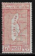 Oltre Giuba Scott # 32 Mint Hinged Map, 1926 - Oltre Giuba