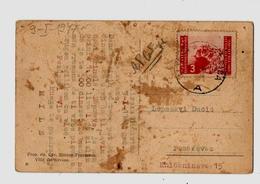 1947 - ILIRSKA BISTRICA.- Saluti Da Villa Del Nevoso - Panorama / Stamp Istra-Slovensko Primorje - Slowenien