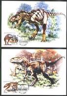 Serbia 2009 2 MC Dinosaurs - Fossils
