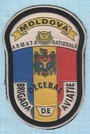 MOLDOVA / Patch Abzeichen Parche Ecusson / National Army. Air Force Aviation. Brigada Decebal. - Blazoenen (textiel)