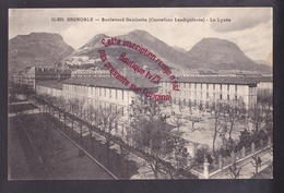 Q2072 - GRENOBLE Boulevard Gambetta Le Lycée - Isère 38 - Grenoble