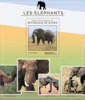 Guinea 2014 Fauna Elephants - Guinée (1958-...)