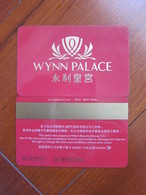 Macao Wynn Palace Red Card - Casino Cards