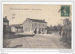 MARNE SAINT HILAIRE AU TEMPLE BUREAU DE POSTE - Frankrijk