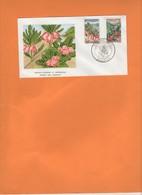 Fleurs De Nouvelle-Calédonie 1964. Bikkia Et Xanthostemon. Belle Enveloppe 1er Jour - Briefe U. Dokumente