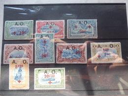 Congo Belge  Ruanda Urundi    36/44 Rode Ccruiz, Croix Rouge A Charnieres *  A. O. - 1894-1923 Mols: Neufs