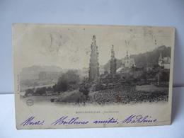 MONT SAINT JEAN  21 COTE D'OR  BOURGOGNE VUE GÉNÉRALE CPA DOS NON DIVISE 1909 E.tribet A Poully - Frankrijk