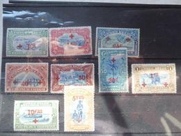 Congo Belge / Belgisch Congo    72/80 Rode Ccruiz, Croix Rouge A Charnieres * - 1894-1923 Mols: Neufs