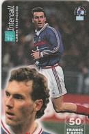 INTERCALL..50 FRANCS..LAURENT BLANC - Frankrijk