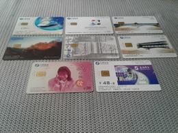 China - 3 Nice Chipphonecard - China