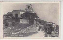 Monte Generoso - Mit Bahnhof Und Zug - 1928 - TI Tessin