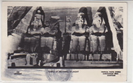 Temple Of Abu-Simbel By Night - 1963 - Temples D'Abou Simbel