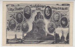 1. Allge.Deutscher Reichskriegertag Leipzig 17.-19.Okt. 1925 - Leipzig