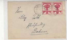 Brief Mit 107 (2) Aus HAMM 3.12.19 Nach Beckum - Briefe U. Dokumente