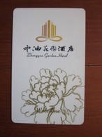 Zhongyou Garden Hotel, China - Hotelkarten