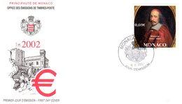 """"""" MAZARIN """" Sur Enveloppe 1er Jour De 2002. Parfait état. FDC - FDC"""