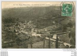 72 SAINT-LEONARD-DES-BOIS. Vue Générale 1924 - Saint Leonard Des Bois