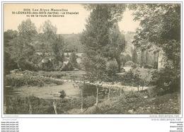72 SAINT-LEONARD-DES-BOIS. Chapelet Route De Gesvres - Saint Leonard Des Bois