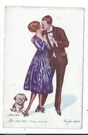 Illustration Signée Sager,les Cinq Sens ,pratique D'ensemble - Sager, Xavier